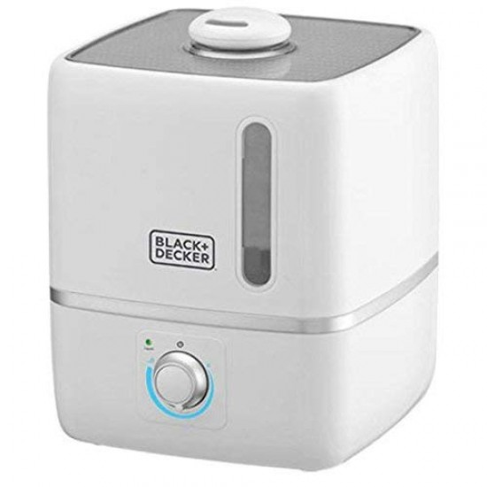 Black+Decker HM3000-B5 Air Humidifier, 3L, White