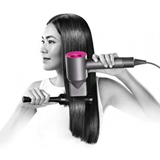 Dyson Supersonic Hair Dryer (includes four attachments - diffuser, smoothing nozzle, styling concentrator, gentle air dryer) (Purple/Black)