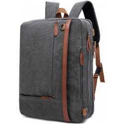 CoolBELL Convertible Backpack Shoulder Bag Messenger Bag Laptop Case Business Briefcase Leisure Handbag