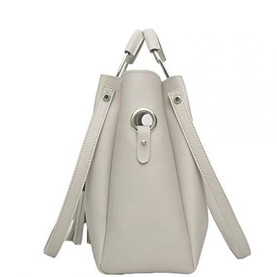 Stylish Pink Shoulder Bag For Women Simple Style Leather Crossbody Bag Chic Ladies HandBag