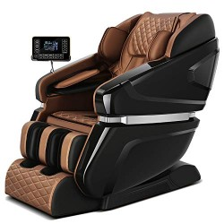 Full-automatic guideway massage chair for multi-functional space capsule