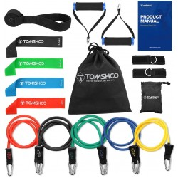 Fanryy Resistance Bands,17Pcs Resistance Bands Set