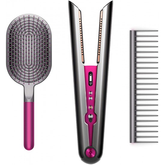 Dyson Corrale Hair Straightener - limited edition giftset with Dyson designed brush & comb