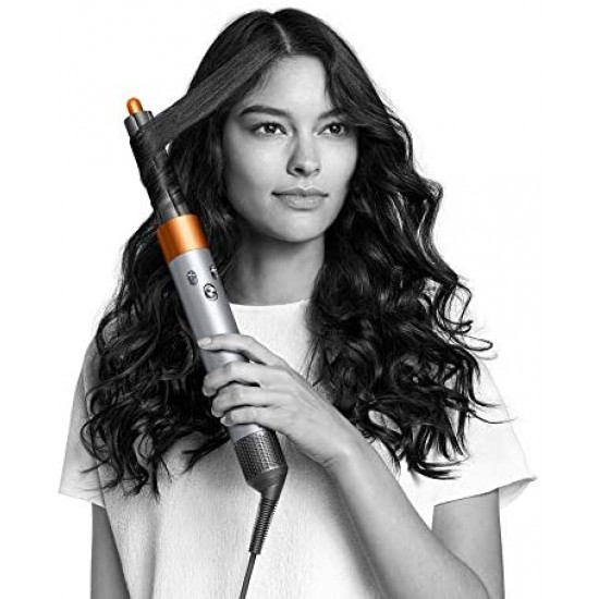 Dyson Airwrap Hair Styler Complete Set - limited edition giftset with storage bag (Silver/Copper)